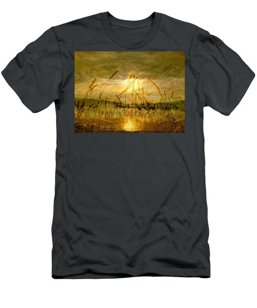 Golden Sunset Men's T-Shirt (Athletic Fit)