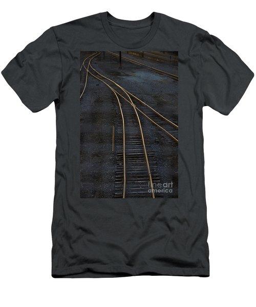 Golden Tracks Men's T-Shirt (Athletic Fit)
