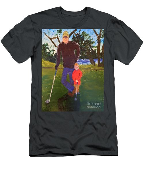 Golfing Men's T-Shirt (Athletic Fit)