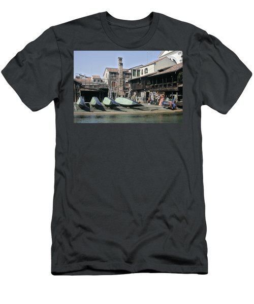 Gondola Showroom Men's T-Shirt (Athletic Fit)