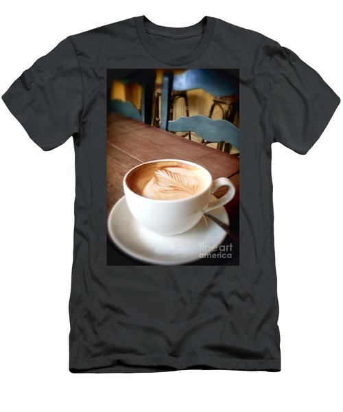 Good Morning Latte Men's T-Shirt (Athletic Fit)