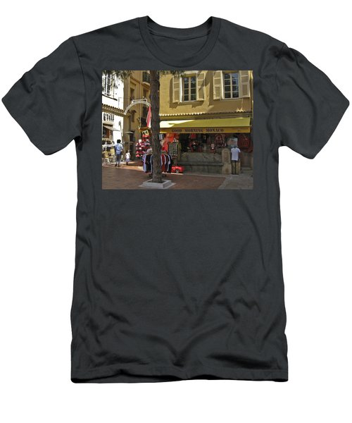 Men's T-Shirt (Slim Fit) featuring the photograph Good Morning Monaco by Allen Sheffield