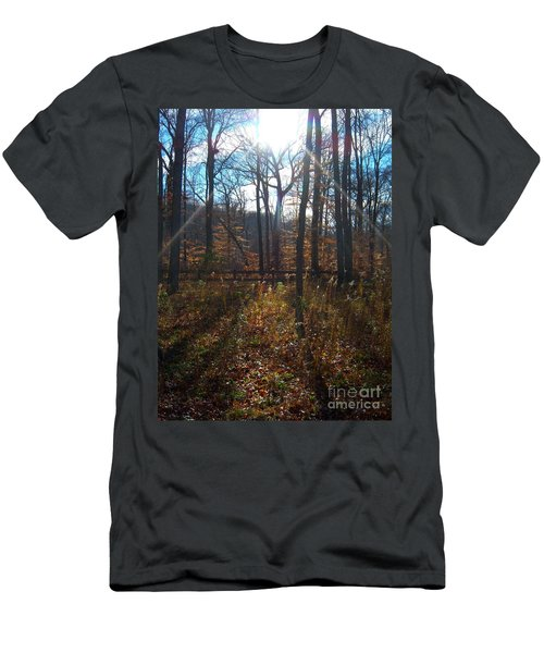 Men's T-Shirt (Slim Fit) featuring the photograph Good Morning by Pamela Clements