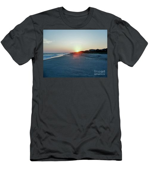 Men's T-Shirt (Slim Fit) featuring the photograph Good Night Day by Roberta Byram