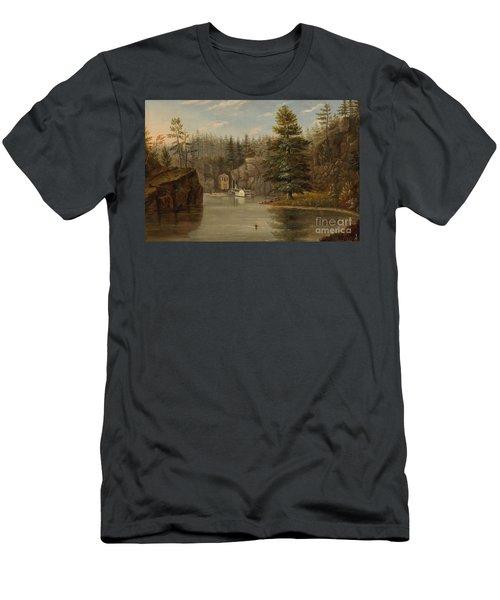 Gorge Of The St Croix Men's T-Shirt (Athletic Fit)