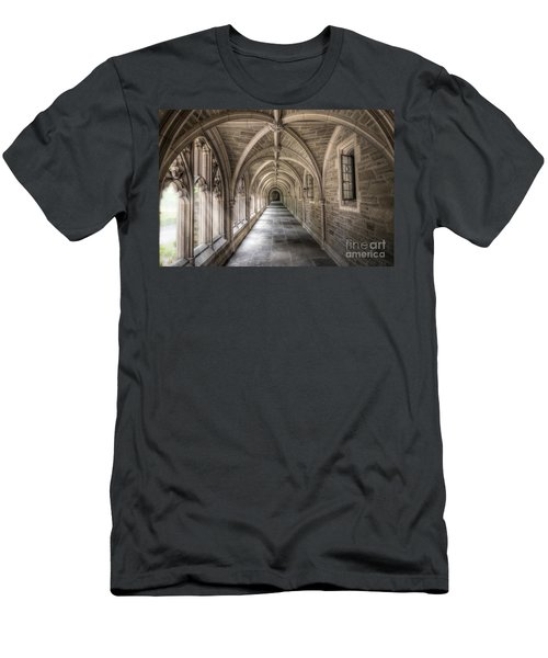 Gothic Hall At Princeton Nj Men's T-Shirt (Athletic Fit)