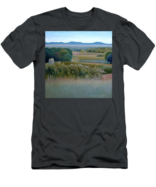 Grace Vineyards No. 1 Men's T-Shirt (Slim Fit) by Catherine Twomey