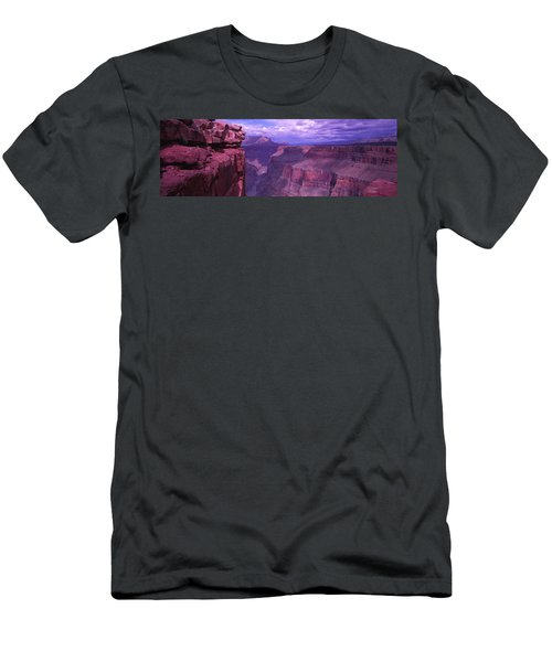 Grand Canyon, Arizona, Usa Men's T-Shirt (Slim Fit) by Panoramic Images