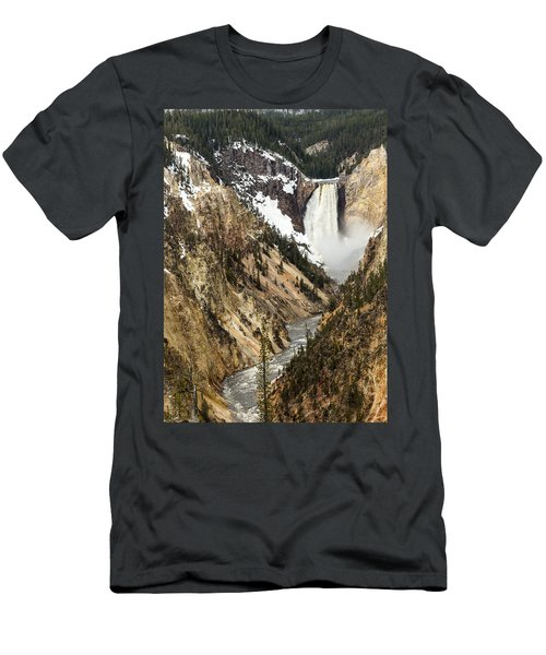 Grand Canyon Of The Yellowstone Men's T-Shirt (Athletic Fit)