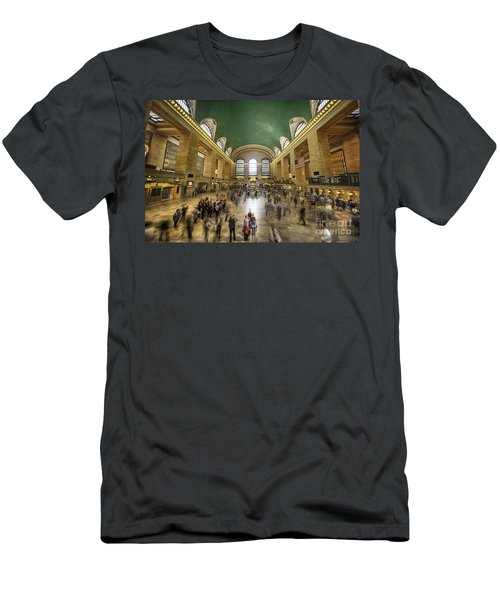 Grand Central Rush Men's T-Shirt (Athletic Fit)