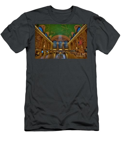 Grand Central Station Men's T-Shirt (Athletic Fit)