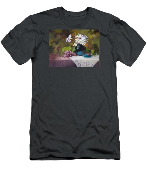 Grandma's Daisies Men's T-Shirt (Athletic Fit)