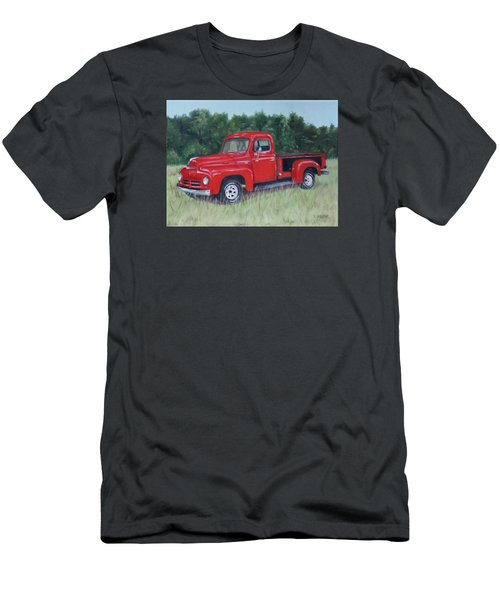Grandpa's Truck Men's T-Shirt (Athletic Fit)