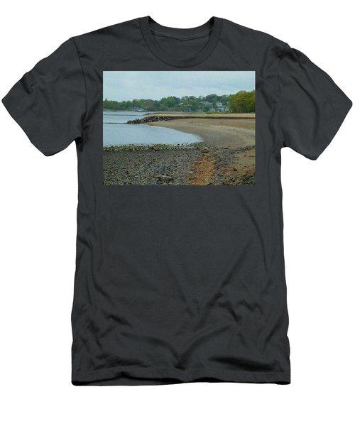 Granular Solitude Men's T-Shirt (Athletic Fit)