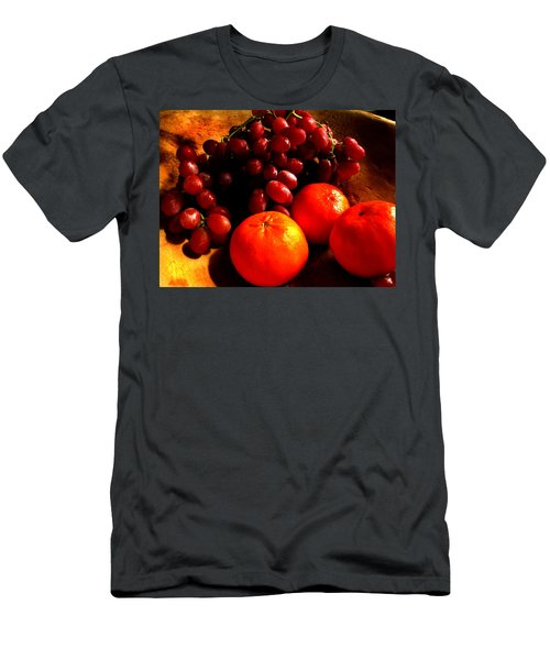 Grapes And Tangerines Men's T-Shirt (Athletic Fit)