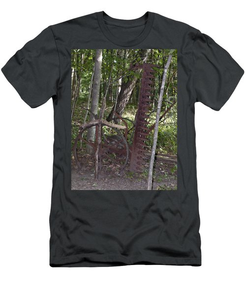 Grave Site Men's T-Shirt (Slim Fit) by Tara Lynn