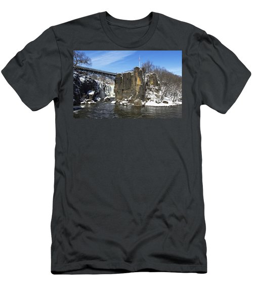 Great Falls In Color Men's T-Shirt (Athletic Fit)