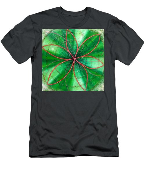 Green Chakra Men's T-Shirt (Athletic Fit)