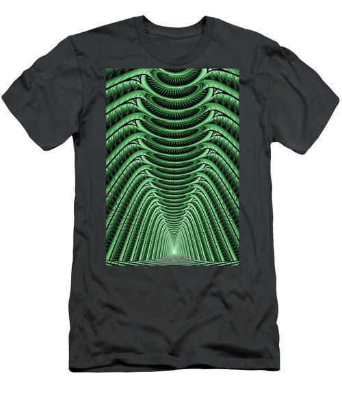 Green Hall Men's T-Shirt (Athletic Fit)