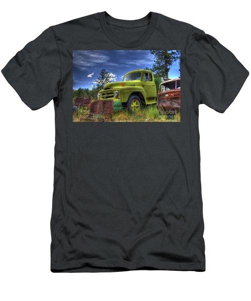 Green International Men's T-Shirt (Athletic Fit)