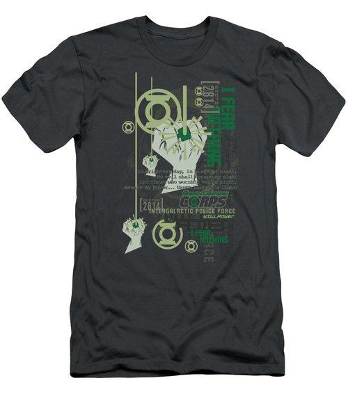 Green Lantern - Core Strength Men's T-Shirt (Athletic Fit)