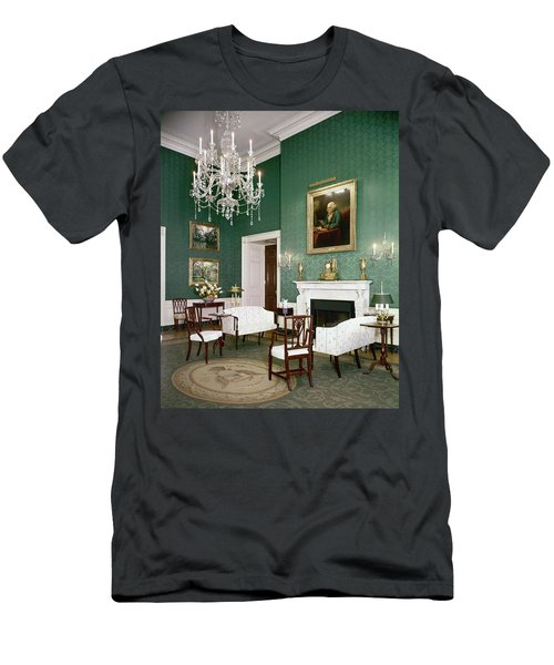 Green Room In The White House Men's T-Shirt (Athletic Fit)