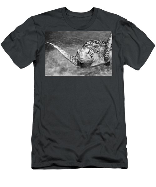 Green Sea Turtle. Men's T-Shirt (Athletic Fit)