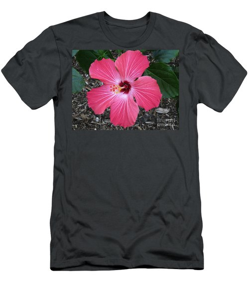 Men's T-Shirt (Slim Fit) featuring the photograph Greetings From Florida by Oksana Semenchenko