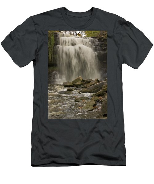 Grindstone Falls Men's T-Shirt (Athletic Fit)