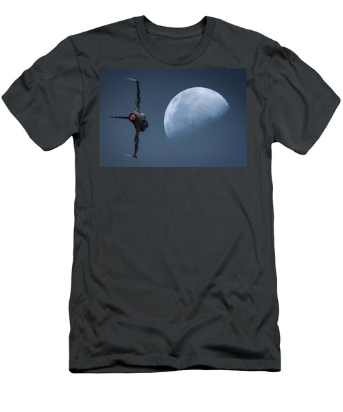 Gripen Moon Men's T-Shirt (Athletic Fit)