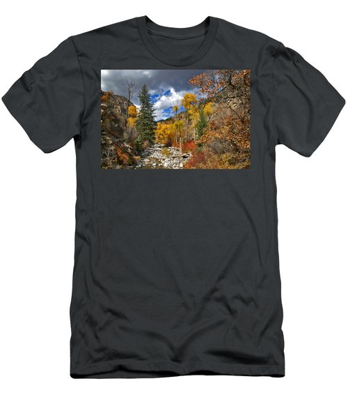 Grizzly Creek Cottonwoods Men's T-Shirt (Athletic Fit)