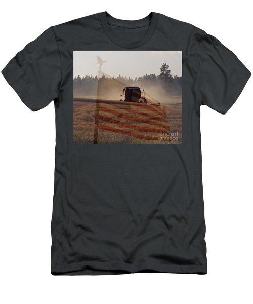 Grown In America Men's T-Shirt (Athletic Fit)