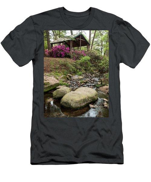 Guignard Park-1 Men's T-Shirt (Athletic Fit)