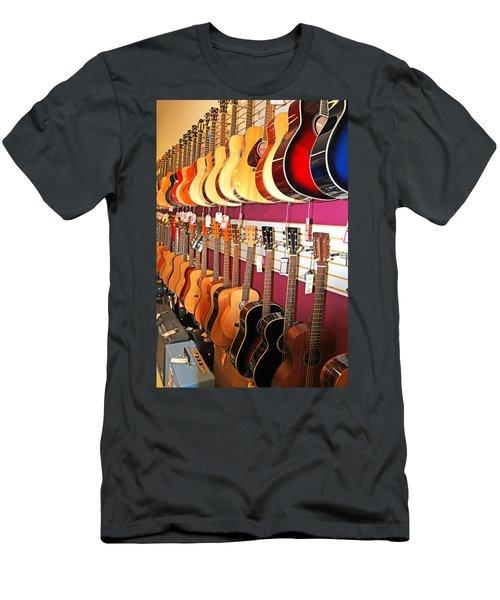 Guitars For Sale Men's T-Shirt (Athletic Fit)