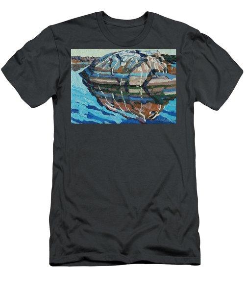 Gull Rock Men's T-Shirt (Slim Fit) by Phil Chadwick