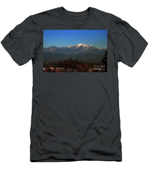 Men's T-Shirt (Athletic Fit) featuring the photograph Hacienda Heights And Industry Overlook by Clayton Bruster