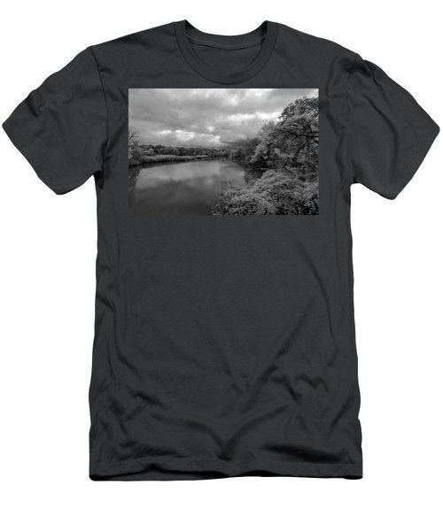 Hackensack River Men's T-Shirt (Athletic Fit)