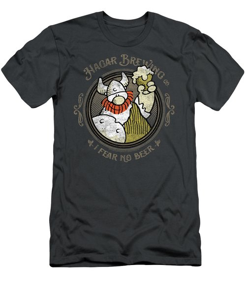 Hagar The Horrible - Hagar Brewing Men's T-Shirt (Athletic Fit)