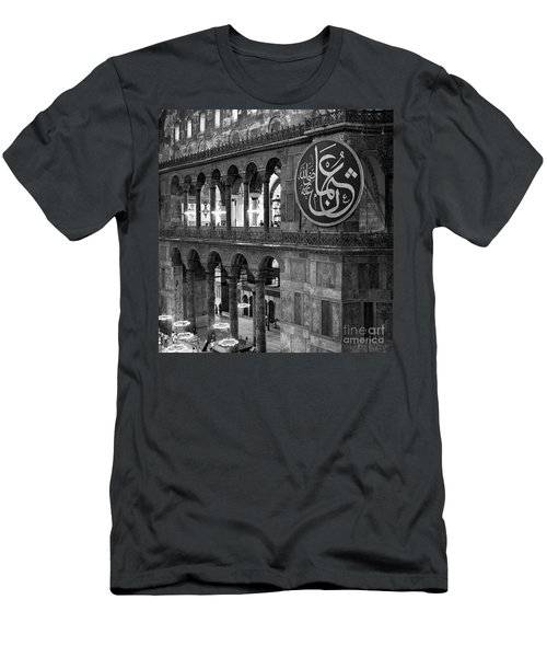 Hagia Sophia Interior 03 Men's T-Shirt (Athletic Fit)