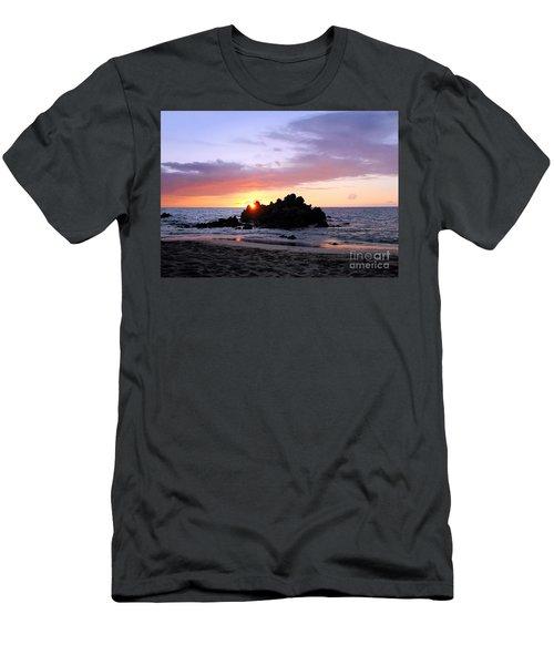 Men's T-Shirt (Slim Fit) featuring the photograph Hali A Aloha by Ellen Cotton