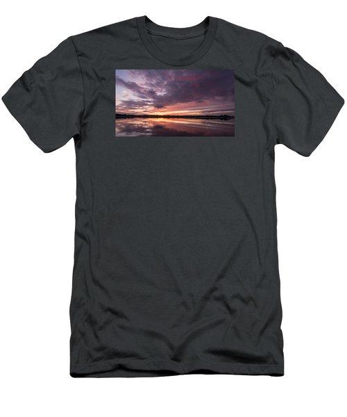 Halifax River Sunset Men's T-Shirt (Slim Fit) by Paul Rebmann