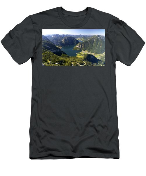 Hallstatt Lake Austria Men's T-Shirt (Athletic Fit)