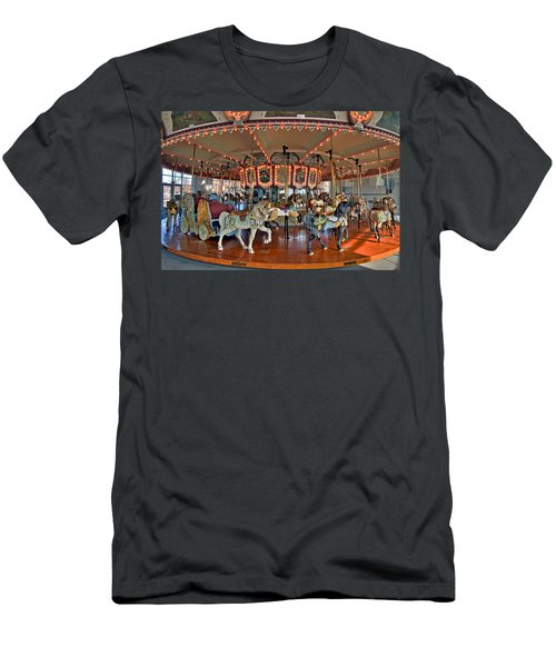 Hampton Carousel 2 Men's T-Shirt (Athletic Fit)