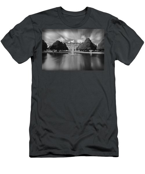 Hampton Court Palace Men's T-Shirt (Slim Fit) by Maj Seda