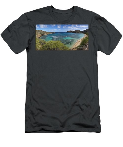 Hanauma Bay Panorama Men's T-Shirt (Athletic Fit)