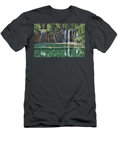 Hanging Lake Men's T-Shirt (Athletic Fit)