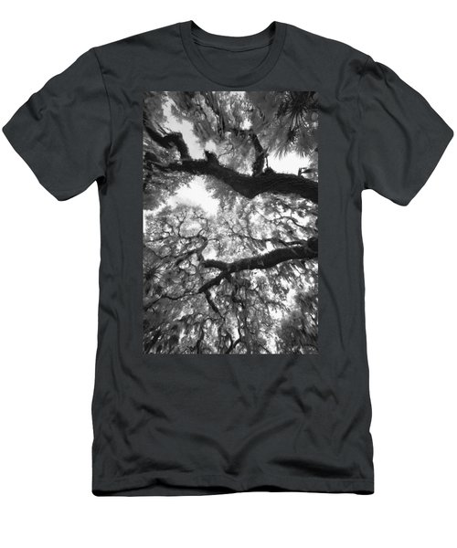 Hanging Moss Men's T-Shirt (Slim Fit) by Bradley R Youngberg