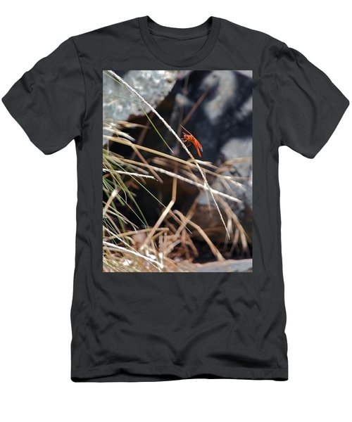 Men's T-Shirt (Slim Fit) featuring the photograph Hanging On by Michele Myers