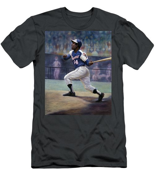 Hank Aaron Men's T-Shirt (Athletic Fit)