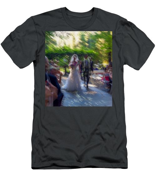 Men's T-Shirt (Slim Fit) featuring the photograph Happily Ever After by Alex Lapidus